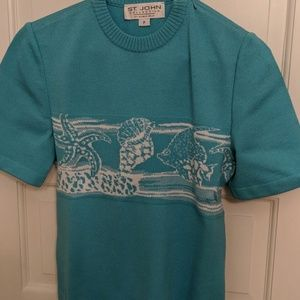 St John knit top